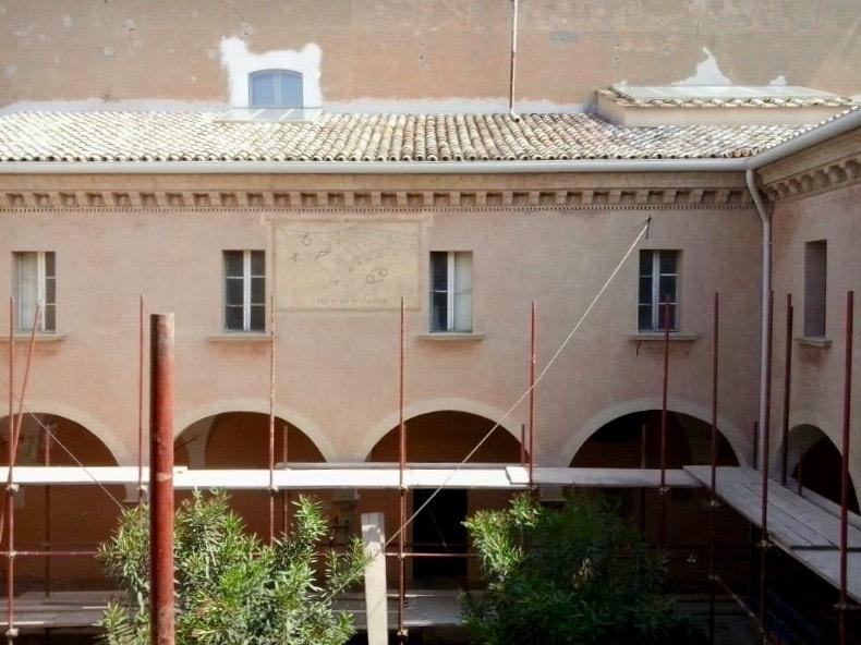 Restauro dell'ex convento di Santa Cecilia della Croara